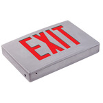 LED Exit Sign - Die Cast Aluminum - Red Letters Image