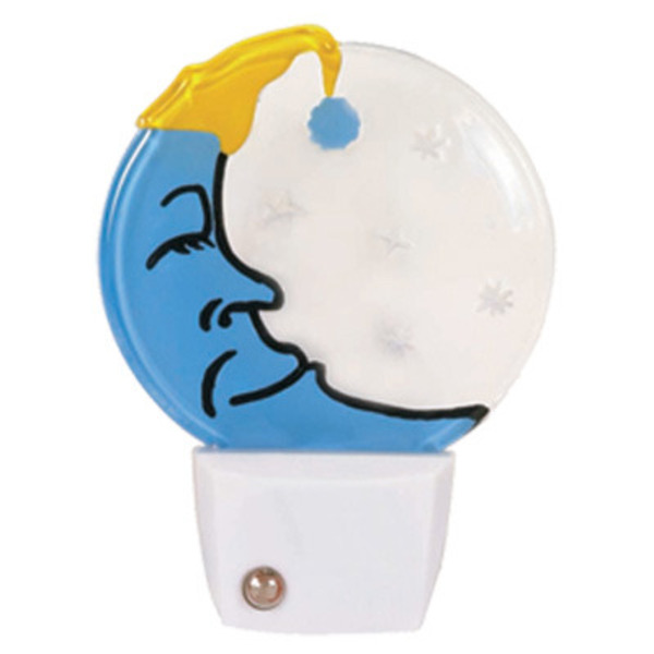 Satco 75031 - Sleeping Moon Night Light Image