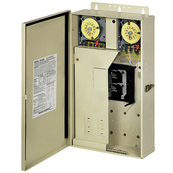 Time Control Panel : Intermatic t r pool spa control panel beige