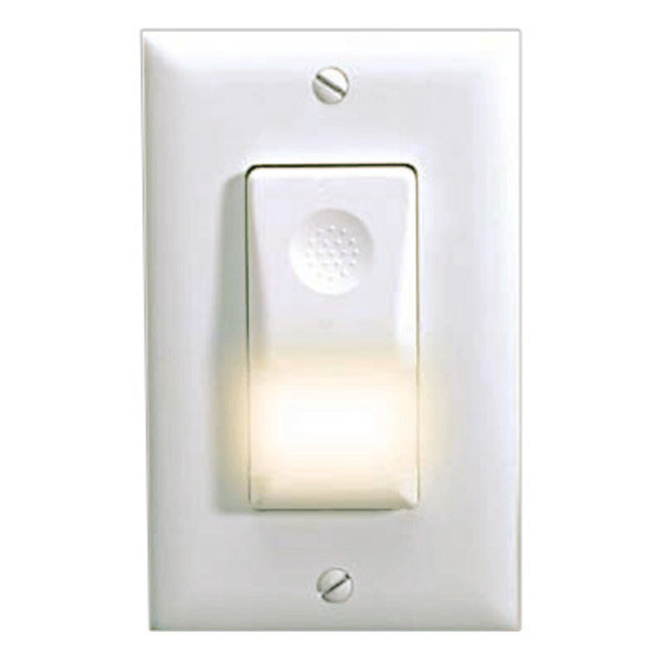 Watt Stopper Legrand WN-100-120-W - 180 Deg. PIR Occupancy Sensor with Night Light Image