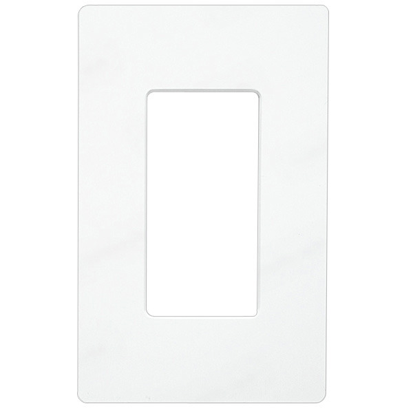 Decorator Wall Plate - White - 1 Gang Image