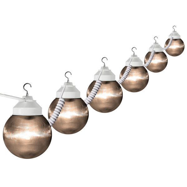 (6) 6 in. Portable Globe String Lights Image