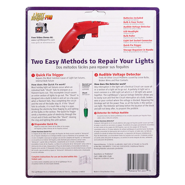 Light Keeper Pro | Christmas Light Tester
