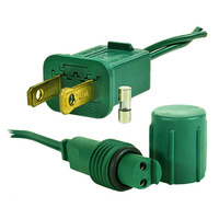 36 in. - Plug Adapter - LED Commercial - Green Wire - Non-Rectified - Powers 66 Rectified Strings