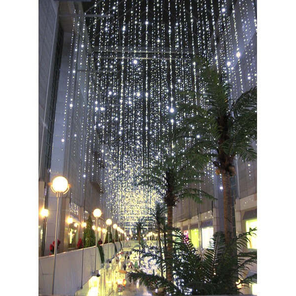 (100) Bulbs - (1) Twinkling Curtain Strand Image