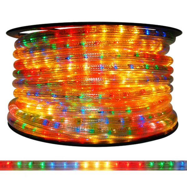 58 in multi color chasing rope light cf5 65bgry incandescent multi color chasing rope light aloadofball Choice Image