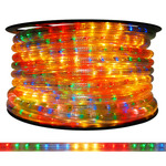 5/8 in. - Incandescent - Multi-Color - Chasing Rope Light Image