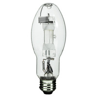 175 Watt - BD17 - Metal Halide - Unprotected Arc Tube - 4000K - ANSI M57 - Medium Base - Universal Burn - MVR175/U/MED - GE 18902