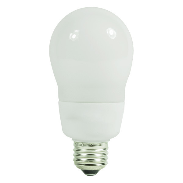 A19 CFL - 14 Watt - 60W Equal - 2700K Warm White Image