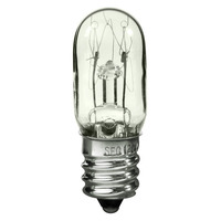 15 Watt - T4.5 - Clear - Candelabra Base - 130 Volt