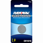 Rayovac CR1616 - Lithium Coin Battery Image