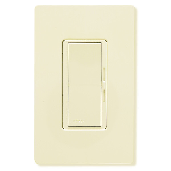 Lutron Diva DVLV-600P-AL - 450 Watt Max. - Magnetic Low Voltage Dimmer Image