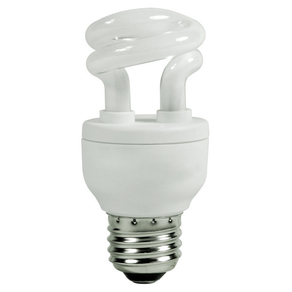 Spiral CFL - 5 Watt - 25W Equal - 2700K Warm White Image