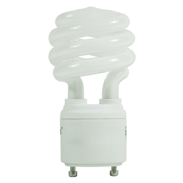 Spiral CFL - 11 Watt -  40W Equal - 2700K Warm White Image