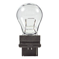 (10 Pack) - 3155K - Mini Indicator Lamp - 12.8 Volt - 1.44 Amp - S8 Bulb - Plastic Wedge Single Filament Base - PLT