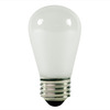 Halco 9058 - 11 Watt Light Bulb - S14 - Opaque White - 3,000 Life Hours - 130 Volt