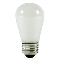 11 Watt - S14 - Opaque White - 3,000 Life Hours - 130 Volt
