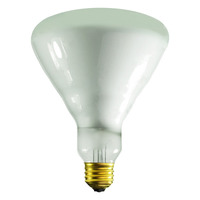 65 Watt - BR40 - Incandescent Reflector - Frosted - Flood - Medium Base - 520 Lumens - 4,000 Life Hours - 130 Volt