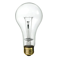 200 Watt - PS30 - Clear - 2,000 Life Hours - 2,100 Lumens - Medium Base - 130 Volt