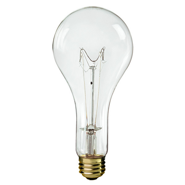 Halco 401305 - 300W - PS25 Bulb - Clear - 5,000 Hours
