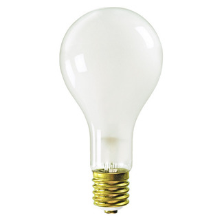500 Watt - PS35 - Frost - Mogul Base - 130 Volt - 2,000 Life Hours - 500PS35/FR/MOG/130V Standard Light Bulb