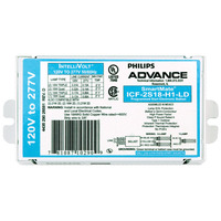 Advance SmartMate ICF-2S18-H1-LDK - (2) Lamp - 18 Watt CFL - 120/277 Volt - Programmed Start - 0.95 Ballast Factor