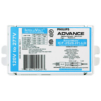 Advance SmartMate ICF-2S26-H1-LD - (2) Lamp - 26 Watt CFL - 120/277 Volt - Programmed Start - 1.0 Ballast Factor - Contractor Kit
