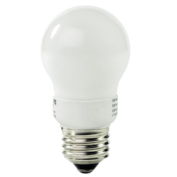 A-Shape CFL - 4 Watt - 25W Equal - 2700K Warm White Image