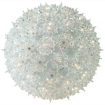 (150) CLEAR Mini Lights - 10 in. dia. Starlight Sphere Image