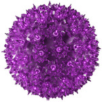 7.5 in. dia. Purple Starlight Sphere -  Utilizes 100  Mini Lights Image