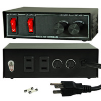 Rope Light Dimming Controller - 2 Channel - 120 Volt - FlexTec WL-3DC