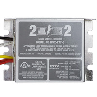 Fulham Workhorse 2 WH2-277-C - (2) Lamp - 277 Volt - Instant Start - 0.87 Ballast Factor
