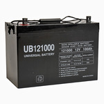 12 Volt - 100 Ah - UB121000 (Group 27) - AGM Battery Image