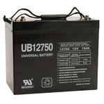 12 Volt - 75 Ah - UB12750 (Group 24) - AGM Battery Image