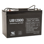 12 Volt - 90 Ah - UB12900 (Group 27) - AGM Battery Image