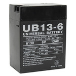 6 Volt - 13 Ah - UB6130 - TOY AGM Battery Image