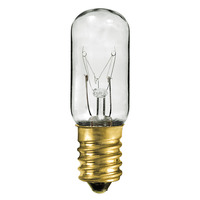 10 Watt - T5.5 Incandescent Light Bulb - Clear - European Brass Base - 60 Volt - PLT 203BT5560V10W