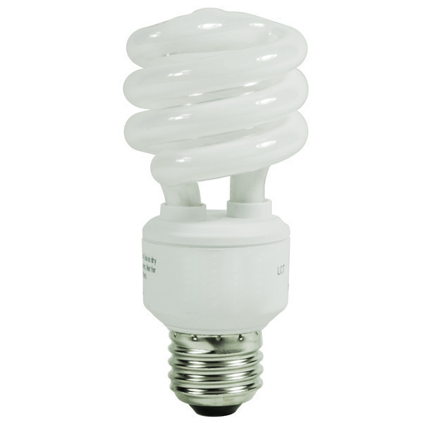 13 Watt - T2 CFL - 60W Equal - 2700K Warm White Image