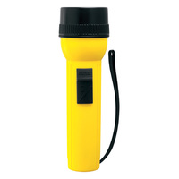 Rayovac IV2D - 2D Utility Flashlight - Length 7.7 in. - Yellow
