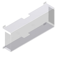 Polycarbonate Guard - For 400, 500, 600, 700, Executive, and VEX Series SF and LL60 - Exitronix XG-1