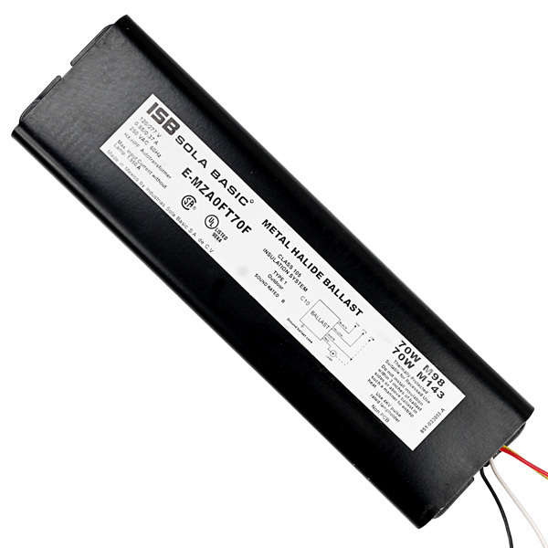 Sola E-MZA0FT70F - 70 Watt - Pulse Start Metal Halide Ballast Image
