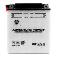 UPG 42001 - OEM YB12A-A - Motorcycle Battery - Conventional (Wet Pack) - 12 Volt - 12 Ah Capacity - F Terminal