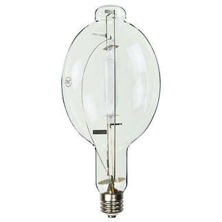 1000 Watt - BT56 - Metal Halide - Unprotected Arc Tube - 4000K - ANSI M47/E - Universal Burn - MH1000W/U - Precision Lighting and Transformer 9654136 BT56 Metal Halide