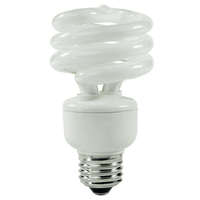 Spiral CFL - 23 Watt - 100W Equal - 2700K Warm White - 82 CRI - 70 Lumens per Watt
