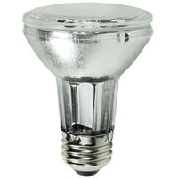 20 Watt - PAR20 Flood - Pulse Start - Metal Halide - Protected Arc Tube - 3000K - ANSI M156/O - Medium Base - Universal Burn - CMH20PAR20/FL - GE 29486