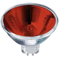 50 Watt - MR16 - Red - FND - Spot - 4,000 Life Hours - 12 Volt