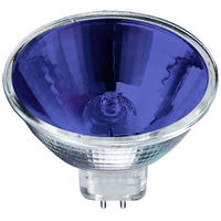 50 Watt - MR16 - Blue - FNF - Spot - 4,000 Life Hours - 12 Volt