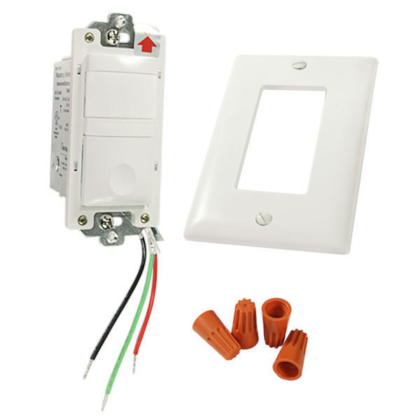 WattStopper Legrand RS150BAW - 180 Deg. PIR Vacancy Sensor Image