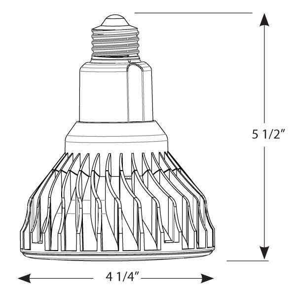 Cree LBR30A92-50D - Dimmable LED - 12 Watt - BR30 Image