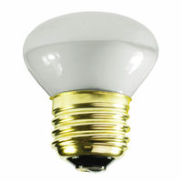 25 Watt - R14 - Mini Incandescent Reflector - Frosted - Flood - Medium Base - 150 Lumens - 1,500 Life Hours - 130 Volt